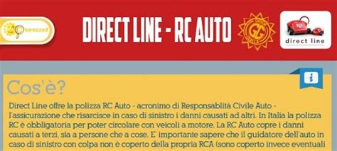 direct line assicurazioni sede legale la polizza rca di direct line chiarezza it