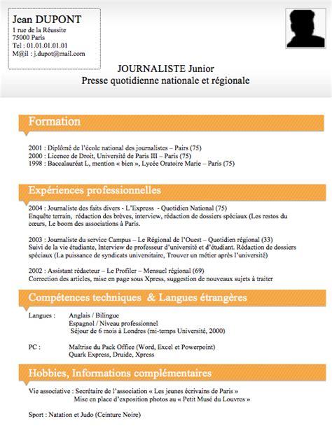 Créer Un Modèle De Lettre Word 2010 Exemple De Cv 233 Tudiant En 233 Conomie Sle Resume