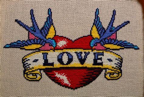 tattoo cross stitch designs tattoo cross stitch cross stitch and perler patterns