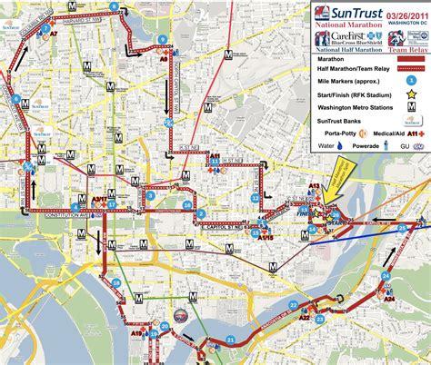 Big Bus Washington Dc Map by Marathons Park View D C