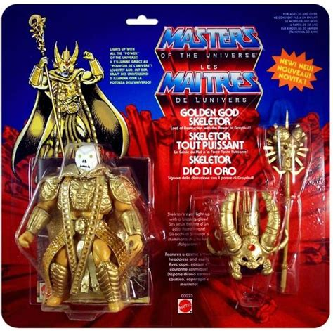 Masters Of The Universe Card Template by Masters Of The Universe Golden God Skeletor Europe Card