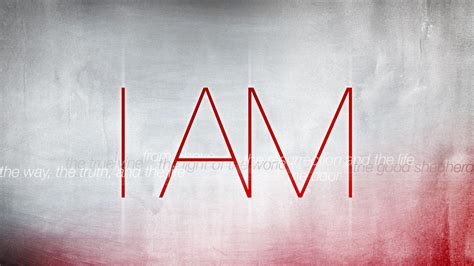 i am sermon series i am