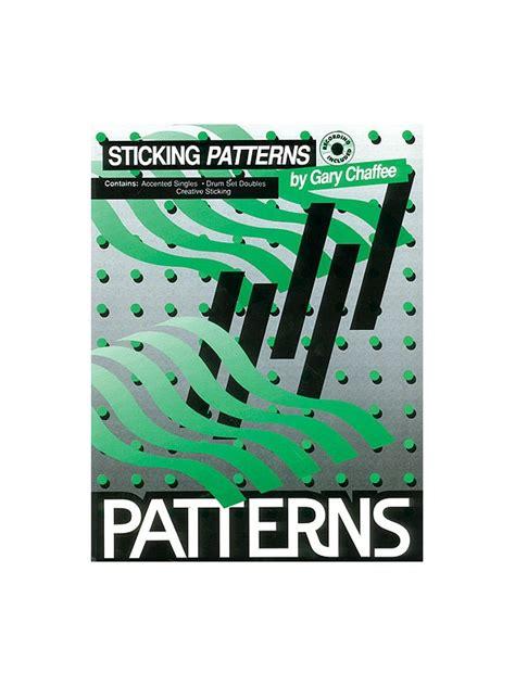 drum pattern awareness sheet music patterns sticking drum cd drums