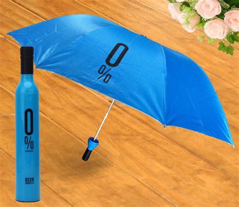 Payung Lipat Desain Vas Bunga payung lipat desain botol wine blue jakartanotebook