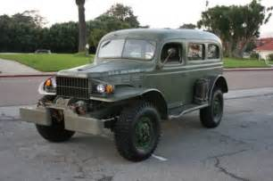 Dodge Carryall For Sale 1942 Dodge Power Wagon Wc 53 Carryall Bring A Trailer