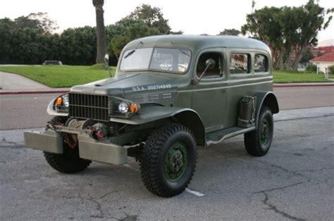 1942 dodge power wagon wc 53 carryall bring a trailer