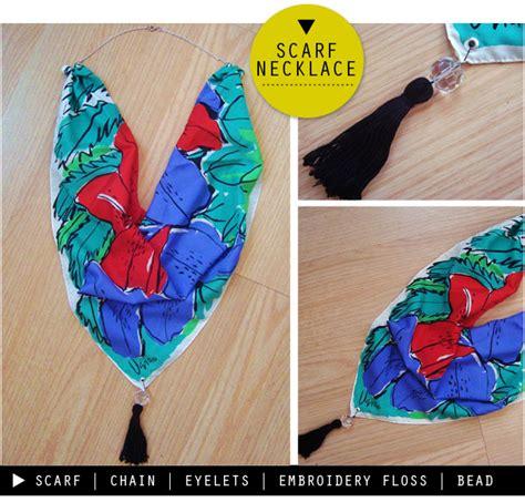 how to make scarf jewelry the style sle cincinnati brand stylist diy scarf