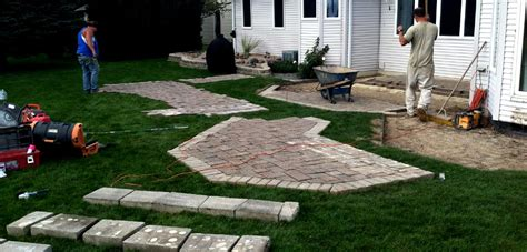Recycled Paver Patio Recycled Patio Pavers
