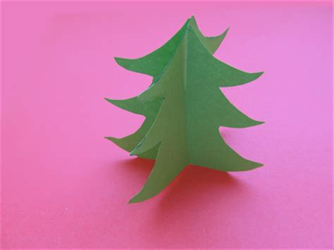 How To Make A Paper 3d Tree - how to make a paper tree in 3d