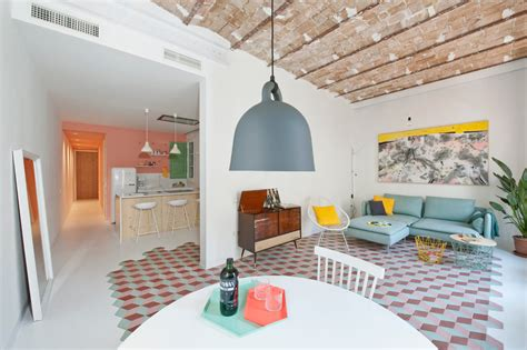 design milk apartment a fresh happy holiday apartment in barcelona design milk