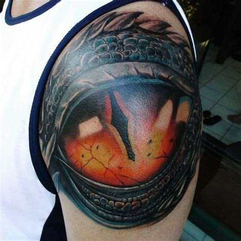 tattoo eye shoulder 21 dragon eye tattoo designs ideas design trends