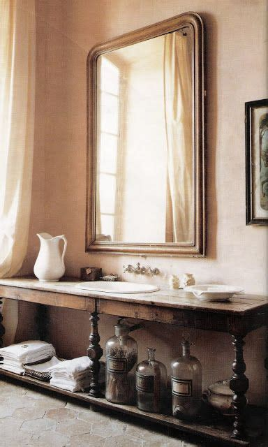 french bathroom mirror french country in chateau de gignac belle magazine