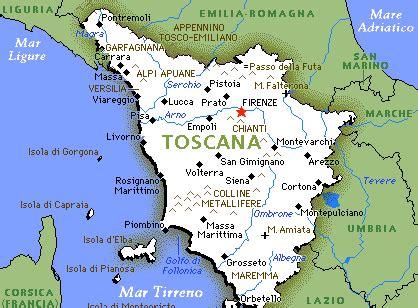 toscana in italiano