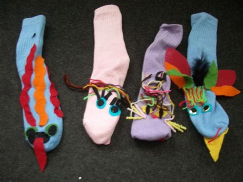 sock puppets with toddlers s children s children