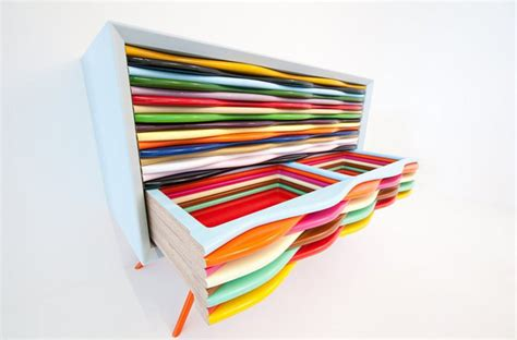 modern and colorful furniture edna dressers by anthony