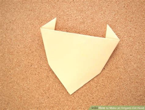 Origami Cat Ears - how to make an origami cat 4 steps with pictures