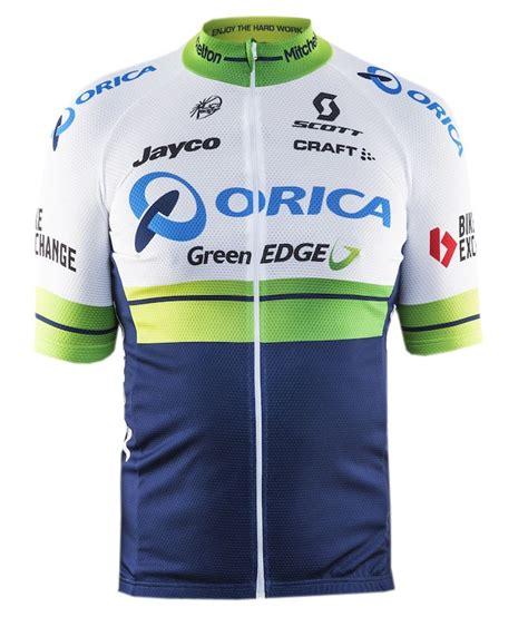 Jersey Greenedge 2016 orica greenedge cycling jersey