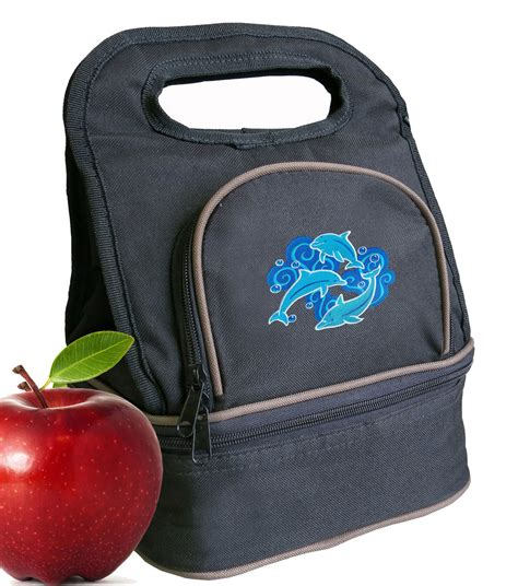 unique dolphin lunch bag lunchbox cooler bags ebay