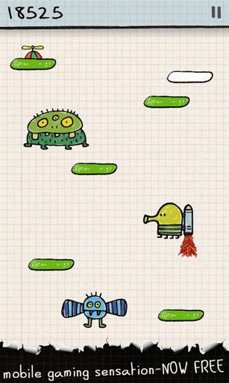 Doodle Jump Gratis Para Android Por Primera Vez