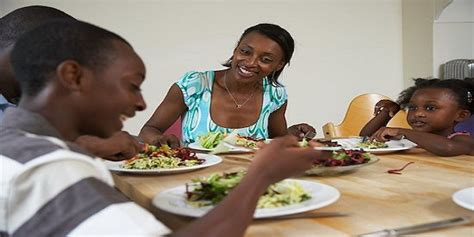 black dinner 6 tips for together as a family