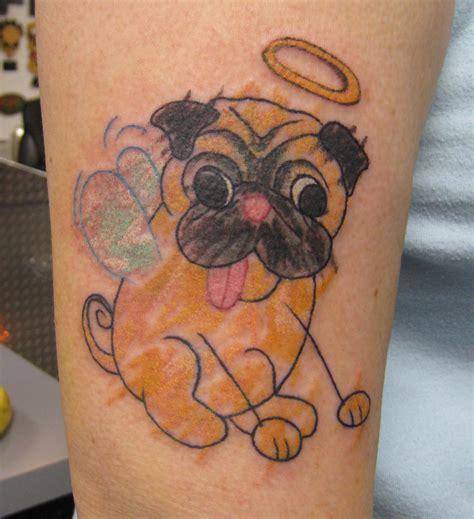 animal word tattoo pug tattoo s pugslife