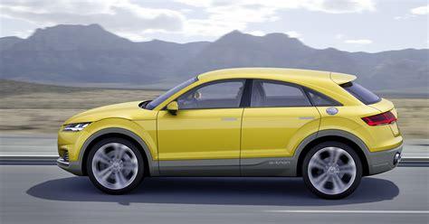 Audi Tt 4x4 by Audi Tt Offroad Concept Previews Future Q4 Tt Suv Image