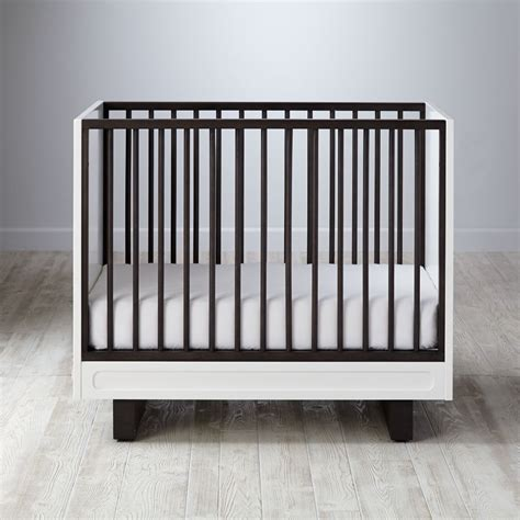 mini crib baby cribs convertible storage mini the land of nod