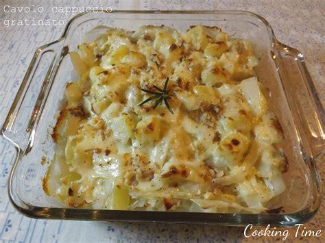 cucinare il cavolo cappuccio cavolo cappuccio gratinato con patate e cipolla cooking time