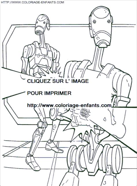 star wars battle droid coloring page free coloring pages of starwars battle droids