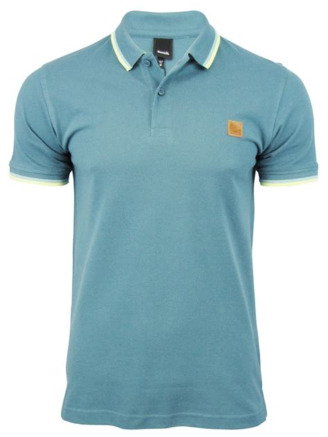 polo shirt bench bench mens polo t shirt ponty cotton pique tipped collar