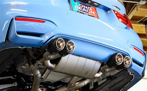 Knalpot M4 Blue Slip On Racing For Motor 150 900cc must performance mods for your bmw m4