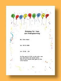 Muster Einladung Kindergeburtstag Einladungen Kindergeburtstag Vorlagen Kostenlos Thesewspot