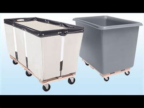 Commercial Laundry Cart On Wheels Youtube Commercial Laundry On Wheels
