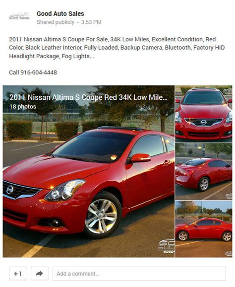 2011 nissan altima coupe for sale sell used 2011 nissan altima s coupe 2 door 34k low