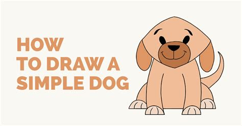 how to draw a puppy easy how to draw a simple