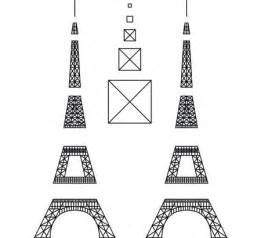 eiffel tower template eiffel tower 3doodler thermoplastic like polymorph and