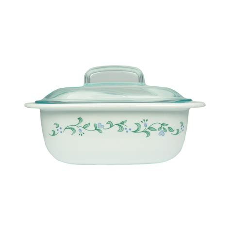 Pyrex Casserole With Lid 1 4 L corelle bakeware country cottage casserole with glass lid