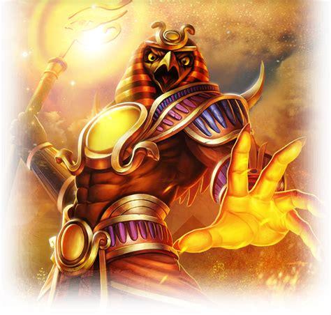 imagenes de dios ra ra dios egipcio dioses smite