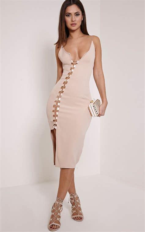 Lace Up Dress midi dresses cheap midi dress sleeve cut out lace