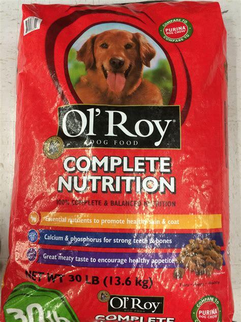 ol roy food ol roy complete nutrition