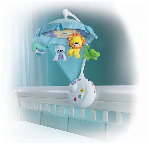 Crib Projector Mobile by Fisher Price Precious Planet 2 In 1 Projection Mobile