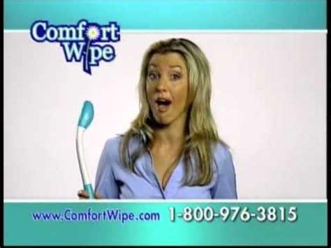 comfort commercial comfort wipe commercial