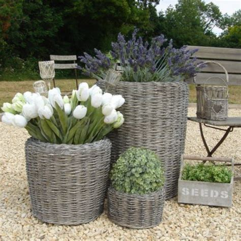 Willow Planters Uk by Large Willow Planter Bliss And Bloom Ltd
