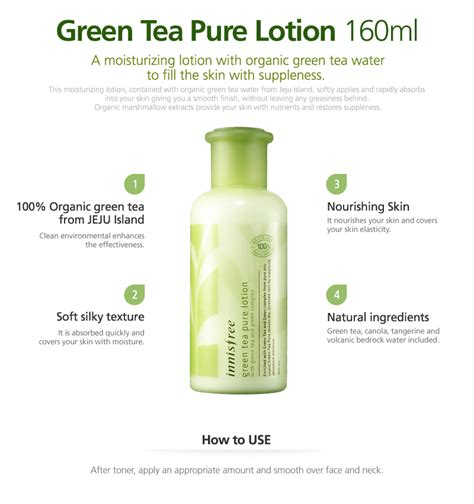 Green Tea Mild Lotion skin hair care cleansers lotions skin care