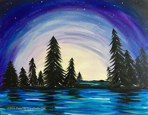 paint the nite island paint the town forest