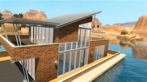 the sims 3 tutorial lucky palms roof style youtube