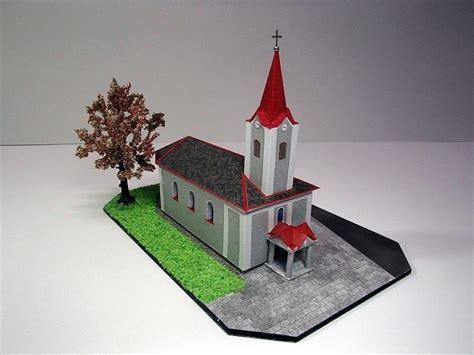 paper craft buildings church papercraftsquare free papercraft