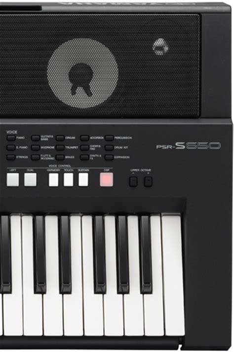 Keyboard Yamaha S650 yamaha psr s650 portable digital keyboard