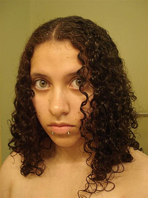 hairstyles for curly hair when wet curly hair wet wave wet curly hair by emowolfie on
