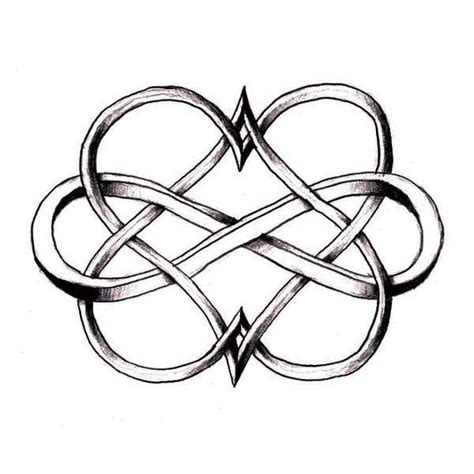 double heart infinity tattoo 25 best ideas about infinity tattoos on